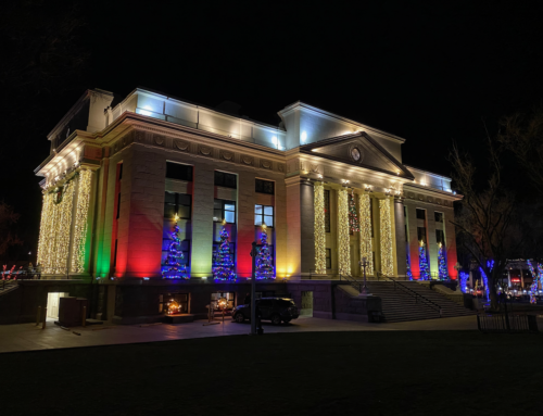 Prescott Courthouse Christmas Lights